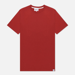 Мужская футболка Norse Projects Niels Standard SS Carmine Red