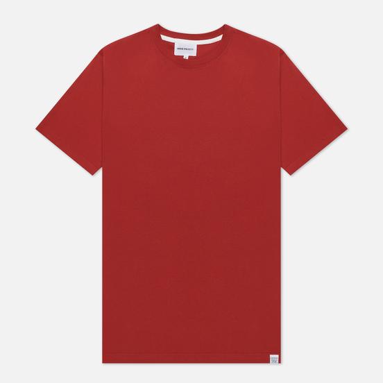 Мужская футболка Norse Projects Niels Standard SS Carmine Red