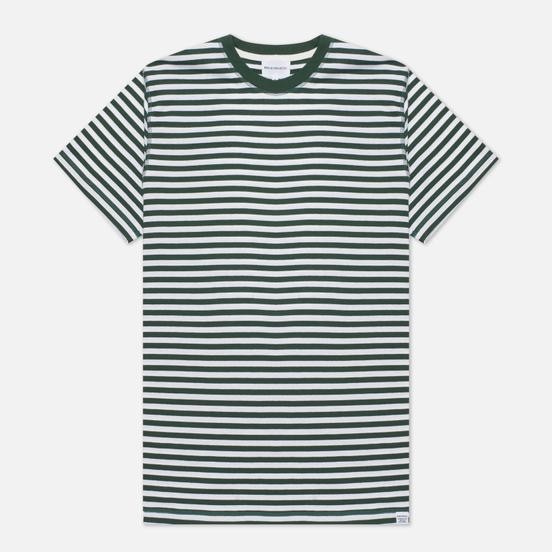 Мужская футболка Norse Projects Niels Classic Stripe Dartmouth Green