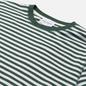 Мужская футболка Norse Projects Niels Classic Stripe Dartmouth Green фото - 1