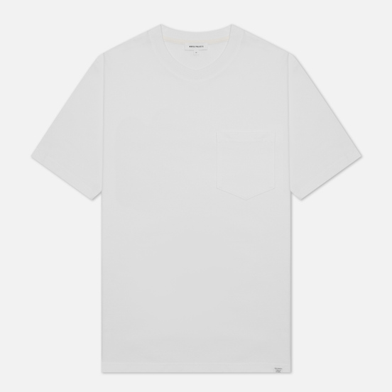 Мужская футболка Norse Projects Johannes Standard Pocket White