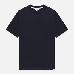 Мужская футболка Norse Projects Johannes Standard Pocket Dark Navy