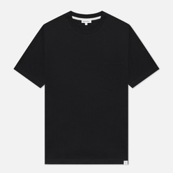 Мужская футболка Norse Projects Johannes Standard Pocket Black