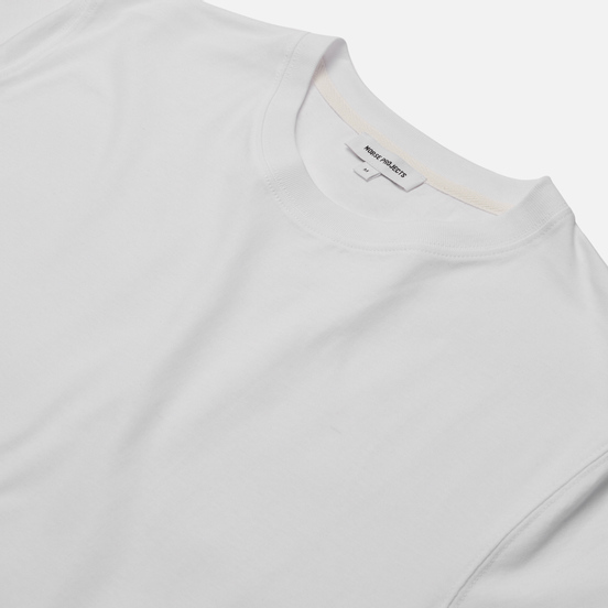 Мужская футболка Norse Projects Niels Standard Regular Fit White