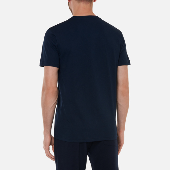 Мужская футболка Norse Projects Niels Standard Regular Fit Dark Navy