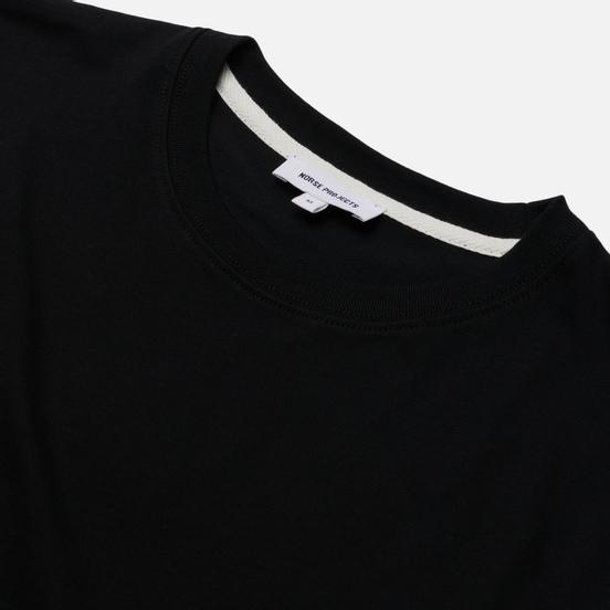 Мужская футболка Norse Projects Niels Standard Regular Fit Black