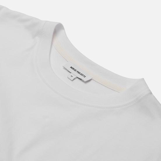 Мужской лонгслив Norse Projects Niels Standard Regular Fit White