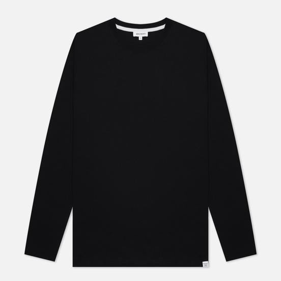 Мужской лонгслив Norse Projects Niels Standard Regular Fit Black