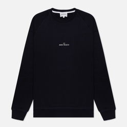 Мужская толстовка Norse Projects Ketel Norse Projects Wave Logo Dark Navy