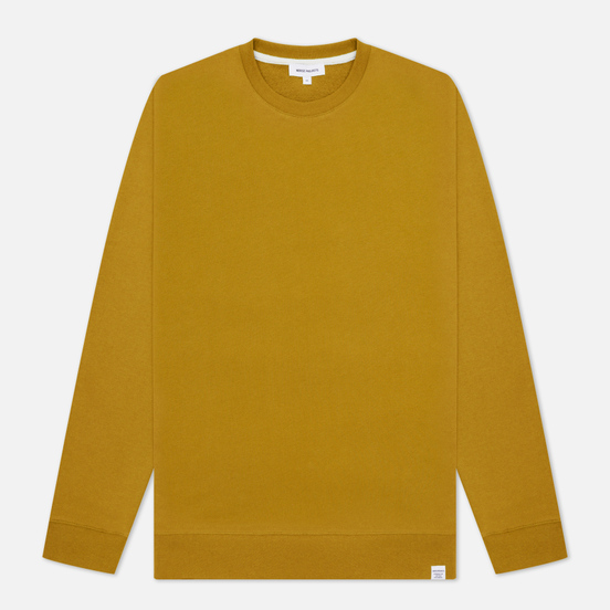 Мужская толстовка Norse Projects Vagn Classic Crew Neck Brass Yellow