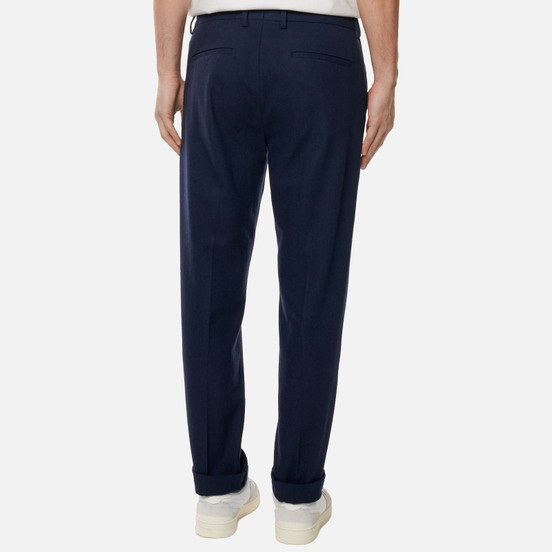 Мужские брюки Norse Projects Thomas Cotton Wool Dark Navy