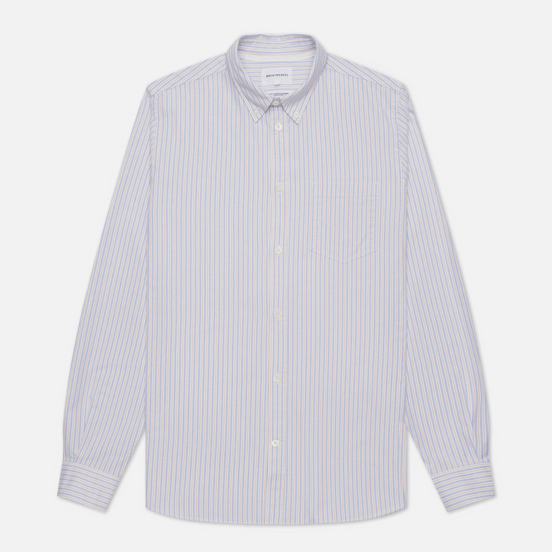Мужская рубашка Norse Projects Anton Oxford Clouded Blue