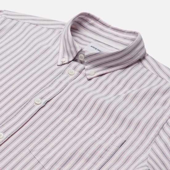 Мужская рубашка Norse Projects Anton Oxford Navy Multi Stripe