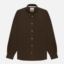 Мужская рубашка Norse Projects Anton Brushed Flannel Dark Green