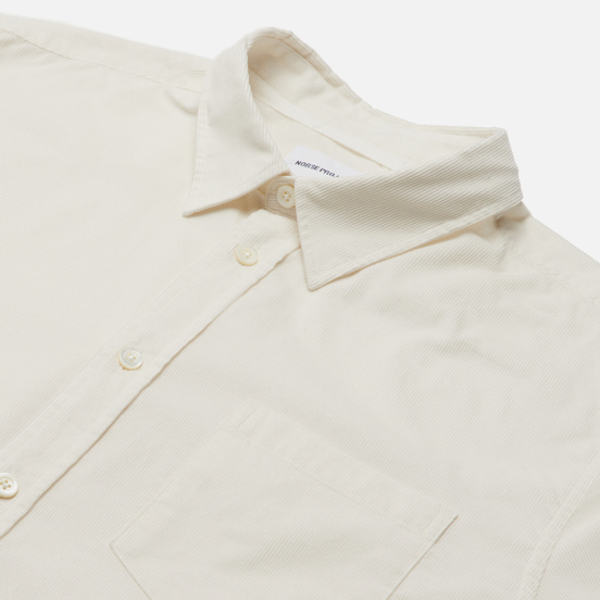 Мужская рубашка Norse Projects Osvald Corduroy Oatmeal