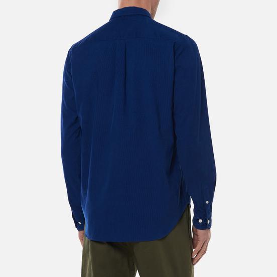 Мужская рубашка Norse Projects Osvald Corduroy Ultra Marine