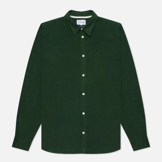 Мужская рубашка Norse Projects Osvald Corduroy Dartmouth Green