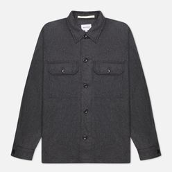 Мужская рубашка Norse Projects Kyle Wool Charcoal Melange