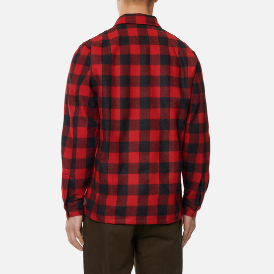 Мужская рубашка Norse Projects Kyle Wool Carmine Red