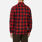 Мужская рубашка Norse Projects Kyle Wool Carmine Red фото - 3