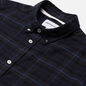 Мужская рубашка Norse Projects Anton Brushed Flannel Check Navy Check фото - 1