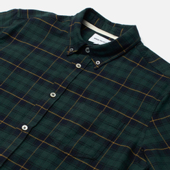 Мужская рубашка Norse Projects Anton Brushed Flannel Check Black Watch Check