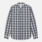 Мужская рубашка Norse Projects Osvald Button Down Light Check Ecru фото - 0