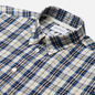 Мужская рубашка Norse Projects Osvald Button Down Light Check Ecru фото - 1