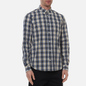 Мужская рубашка Norse Projects Osvald Button Down Light Check Ecru фото - 2