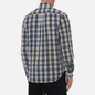 Мужская рубашка Norse Projects Osvald Button Down Light Check Ecru фото - 3