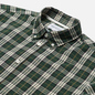 Мужская рубашка Norse Projects Osvald Button Down Light Check Dartmouth Green фото - 1