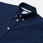 Мужская рубашка Norse Projects Osvald Button Down Cotton Linen Ultra Marine фото - 1