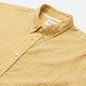 Мужская рубашка Norse Projects Osvald Button Down Cotton Linen Sunwashed Yellow фото - 1