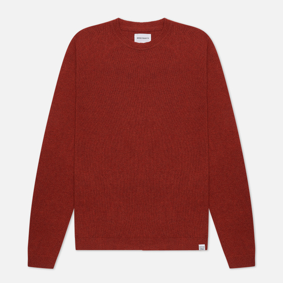 Мужской свитер Norse Projects Sigfred Lambswool Carmine Red
