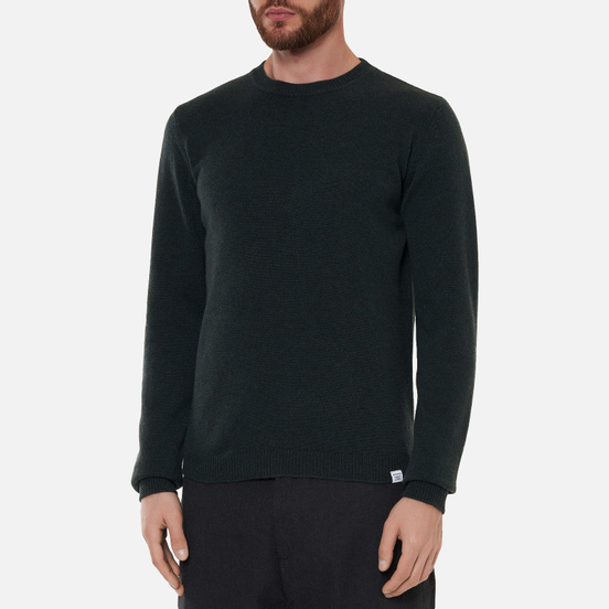 Мужской свитер Norse Projects Sigfred Lambswool Forest Green