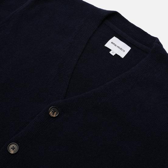 Мужской свитер Norse Projects Adam Lambswool Dark Navy