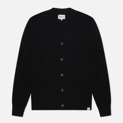 Мужской кардиган Norse Projects Adam Lambswool Black