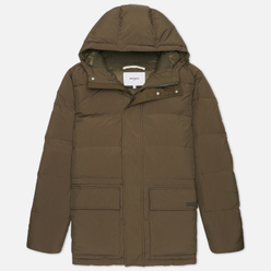 Мужской пуховик Norse Projects Willum Down Limonta Dry Nylon Ivy Green