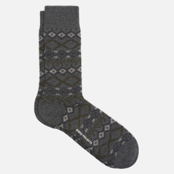 Носки Norse Projects Bjarki Fair Isle Light Grey Melange