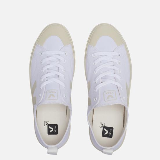 Мужские кроссовки VEJA Nova Canvas White/Pierre