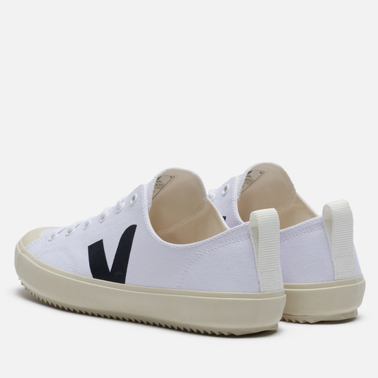 Мужские кроссовки VEJA Nova Canvas White/Black