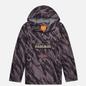 Мужская куртка анорак Napapijri Rainforest Pocket Print Grey/Black фото - 0