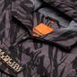 Мужская куртка анорак Napapijri Rainforest Pocket Print Grey/Black фото - 1