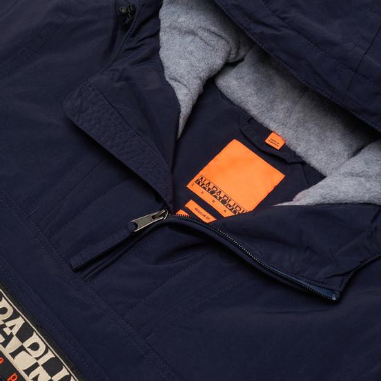 Мужская куртка анорак Napapijri Rainforest Winter 2 Blue Marine