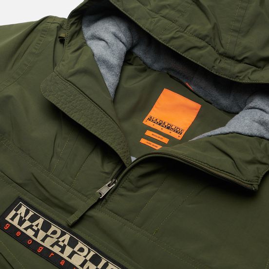 Мужская куртка анорак Napapijri Rainforest Winter 2 Green Depths
