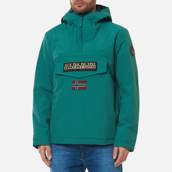 Мужская куртка анорак Napapijri Rainforest Winter 2 Bayberry Green