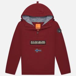 Мужская куртка анорак Napapijri Rainforest Winter 2 Vint Amaranth