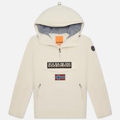 Женская куртка анорак Napapijri Rainforest Pocket 3 Whitecap Gray