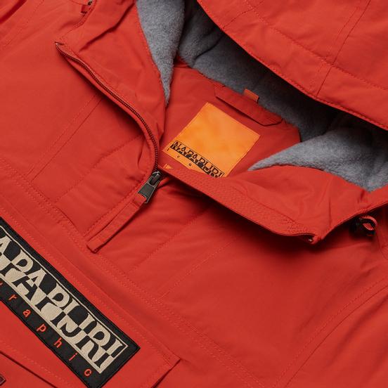 Женская куртка анорак Napapijri Rainforest Winter 4 Ornage Clay