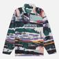 Мужская толстовка Napapijri Revontulet Micro Zip Fleece White/All Over Print фото - 0